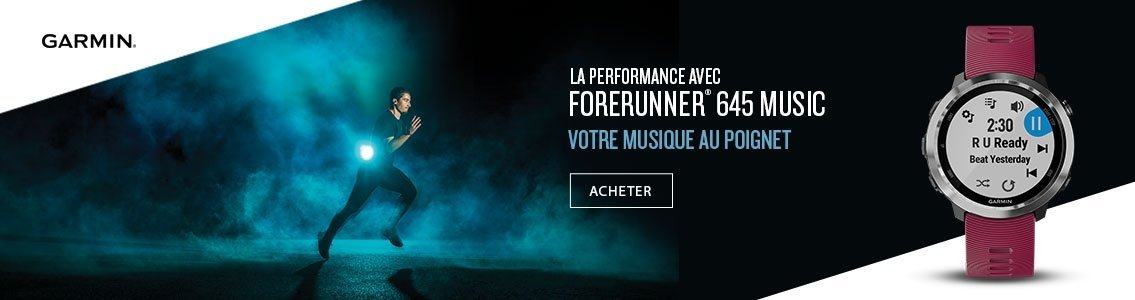 GARMIN Forerunner® 645 Music
