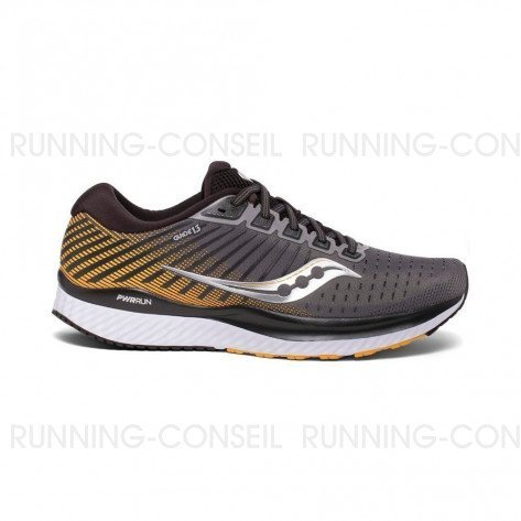 SAUCONY GUIDE 13  Homme - Grey | Yellow