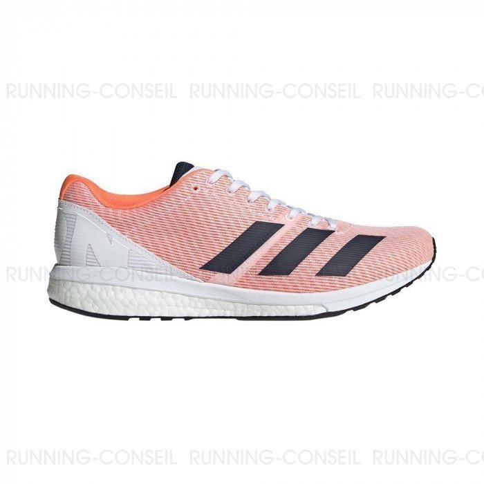 Chaussure de running Adidas Adizero Boston 8 Femme - Orange ...