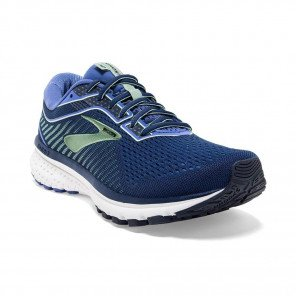 BROOKS GHOST 12 Femme | PeacoatNavy / ChinaBlue / Gold