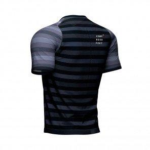 COMPRESSPORT Tee-shirt manche courte RACING Homme | Noir
