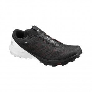 SALOMON SENSE PRO 4 Homme | Black / White / Cherry Tomato | Collection Printemps-Été 2020