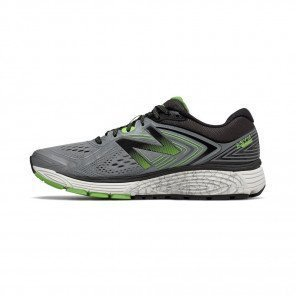 NEW BALANCE 860v8 Homme Steel with Energy Lime / Black