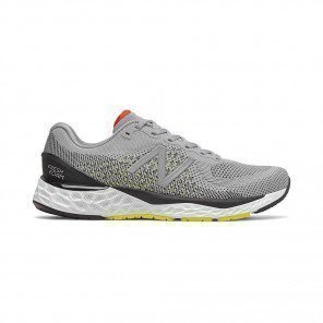 NEW BALANCE Fresh Foam 880v10 Homme - Silver Mink with Lemon Slush